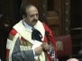 Lord Hussain is introduced into the House of Lords