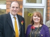 Simon Hughes MP, Linda Jack